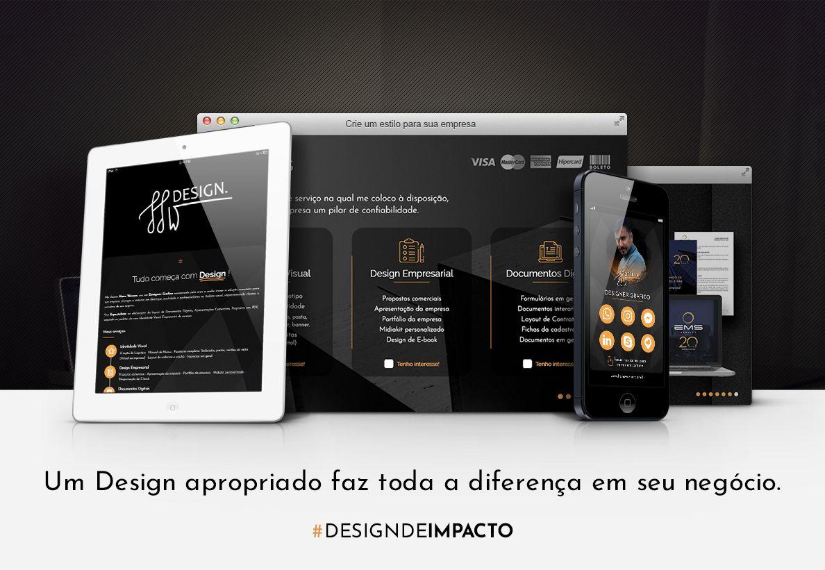 Design de apresentação de empresa, proposta comercial documentos designer gráfico freelancer