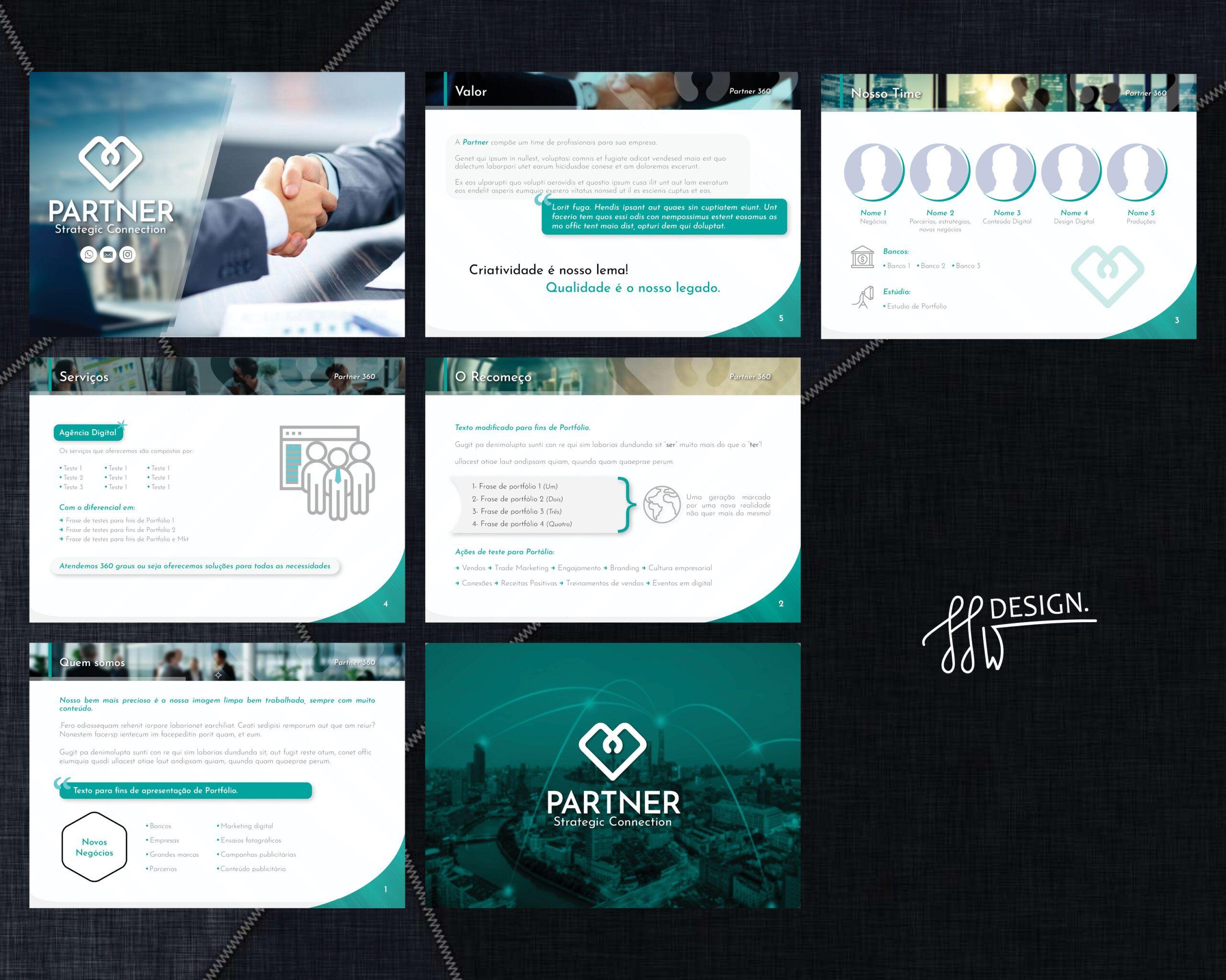Designer de Apresentações em PDF empresariais