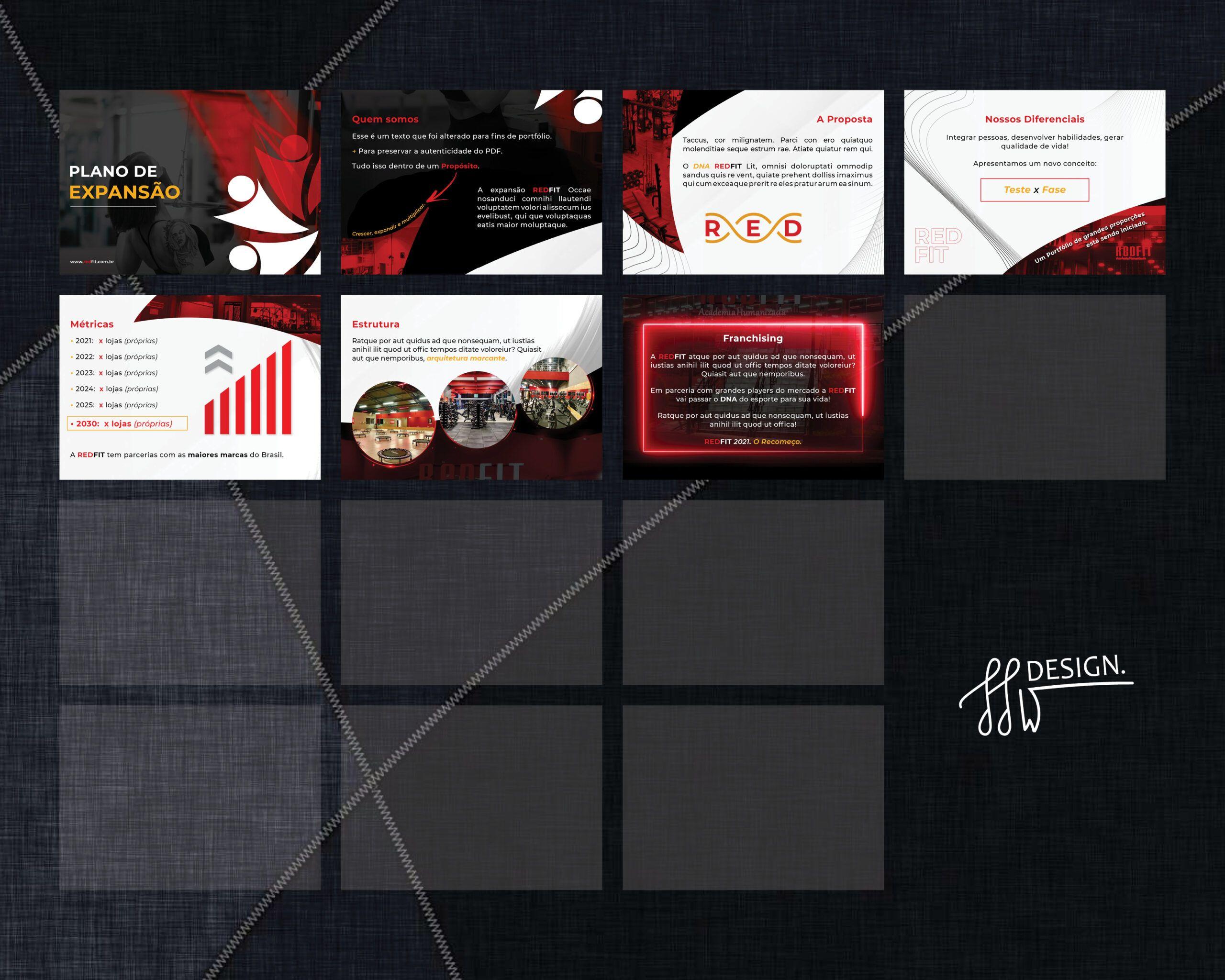 Designer de Apresentações em PDF empresariais PPT